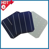 Cheap price 156x156 high efficiency A grade monocrystalline silicon solar cell made in Taiwan