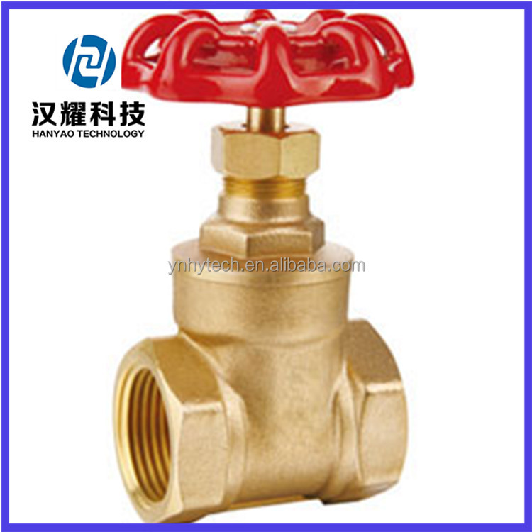 superior low price brass hot oil gate valve