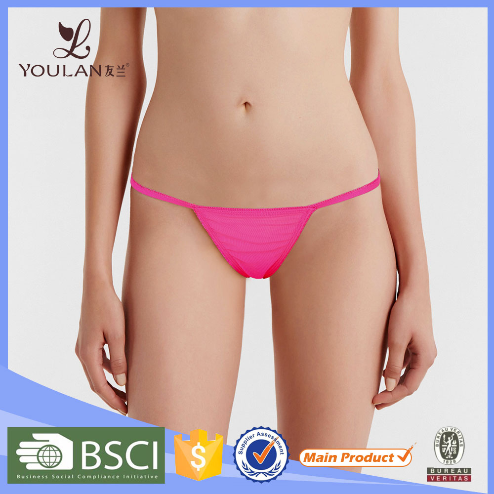 China Wholesale Comfortable Transparent Panty On Girls Sexy Underwear