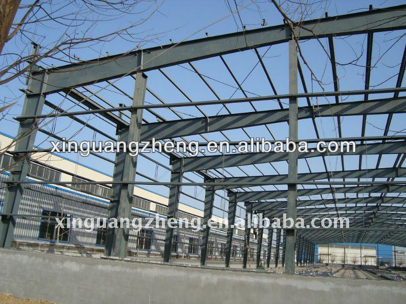 light gauge factory building steel frame