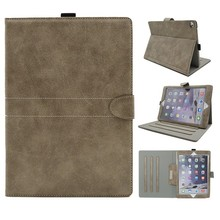 OEM Original Folio Stand Tablet Cover PU Leather Case For Ipad Proof Water
