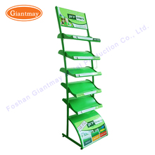 4 layers Garden Decoration Set frame display unit for green grass sample