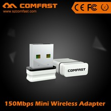 150Mbps Mini USB Wifi dongle USB 2.0 high power USB wifi adapter