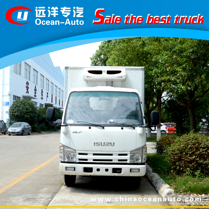 ISUZU 100P refrigerated truck