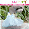 Fashion charming small dog crochet small dog christmas dresses
