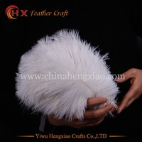 CHINA HX Factory wholesale natural white ostrich feathers for sale