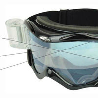 Super Anti Fog PC Lens Motorcycle