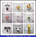 3D animal wall decorated children 's room decoration supplies