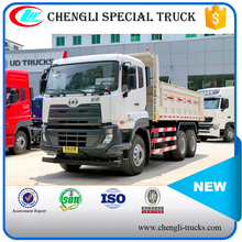 35ton loading 20cbm capacity 10 wheeler 6*4 type NISSAN dump trucks