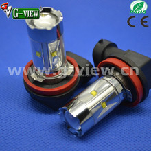 Bright white H8 CREEled high power led car fog light bulb 80w atuo car led daytime running light lamps