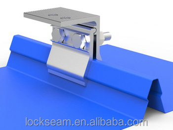 lockseam Off Grid Solar System Solar Accessories Aluminium Clamps