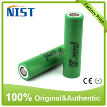 Big Sale!! Green Samsung inr 25R rechargeable battery 18650 2500mah 3.7v 35amp li ion cells