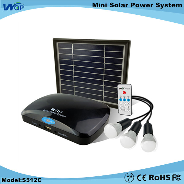 Wholesale small solar generator use for portable home solar lighting system as 12V 3W led for africa marketing mini solar <strong>kits</strong>