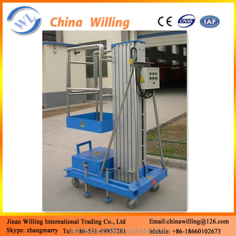 Towable Hydraulic Man Lift Table/Lifter for Aerial Painting Work