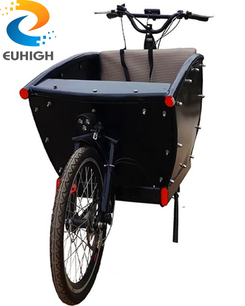 cargo bike for family/bicycle with cargo box longer frame