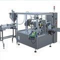 Granule packaging machine banana filling sealing machine