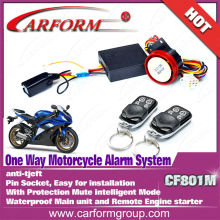 High quality motorcycle anti-theft alarm price