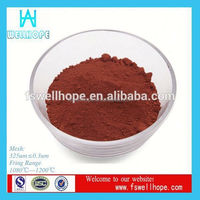 ceramic tiles pigment Brown Red Y101 cement pigment colors coating glazed paint color pigment for pottery