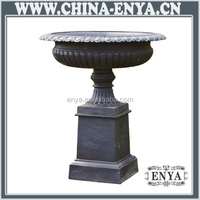 Factory Direct Sales Cast Iron Garden Flower Pot