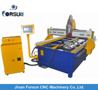 pipe plasma cutting machine/stainless steel pipe cutting machine/bench cnc plasma cutting machine with table