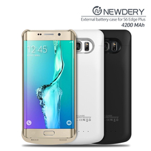 2016 New portable slim phone case for Samsung S6 edge plus power case note 3