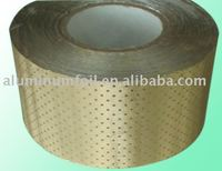 gold aluminum foil laminated in roll