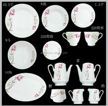 47pcs south africa dinner set