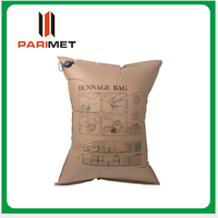 Cargo damage prevention kraft paper air dunnange bag for Container
