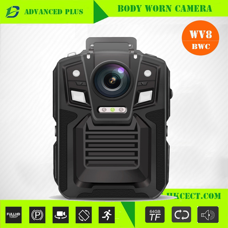 Anti-fog Body camera gps 16gb ir night vision waterproof built-in gps optional 2 batteries Security Body camera Police Body came