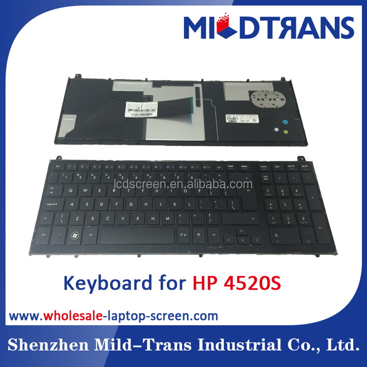 China factory good price US layout laptop Keyboard for HP 4520S