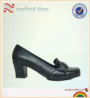 2013 wholesale black lady dress shoe