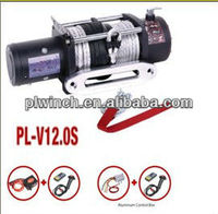strong pull high quality drum anchor winch for 12000lbs single line off-road style