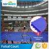 New items environmental pp interlocking sports indoor futsal flooring