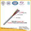 450/750V flexible solid copper PVC insulated electro control cable 2.5mm