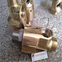 Pipe fittings swivel coupling copper water rotary joints