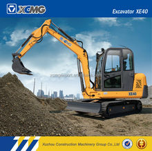 XCMG official manufacturer XE40 4.05ton chinese mini excavator for sale
