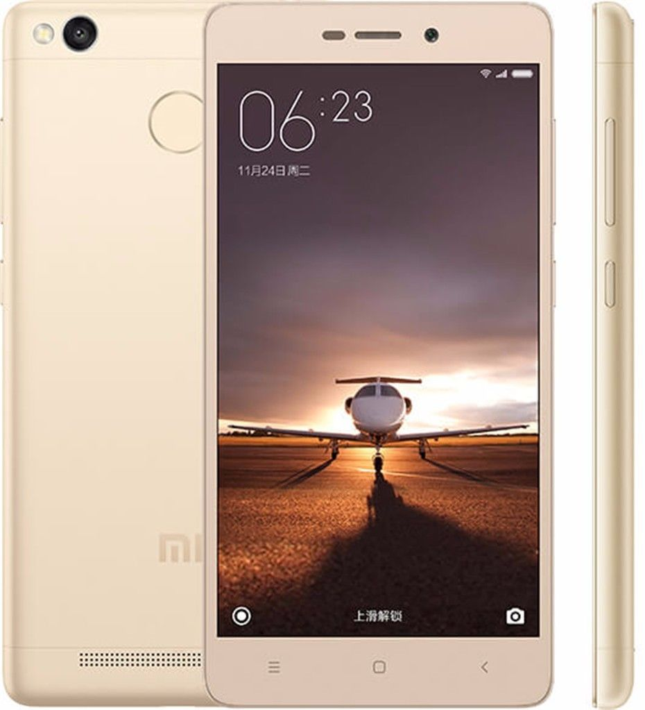 Shenzhen Manufacturers Xiaomi Redmi Red Mi 3S Mobilni Telefon Download Free Games GSM Java China 2GB 16GB Mobile Phone