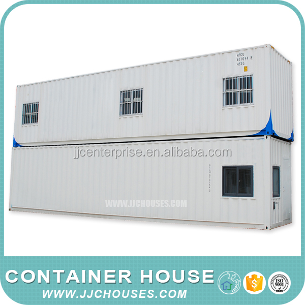 prefab shipping two story container house,easy build container houses,newest fabric container houses