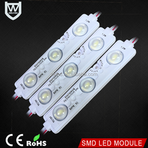 2017 Cheaper price High Brightness DC12V Waterproof led module with Samsung 3 Smd 5730 Injection Led Module for led signs
