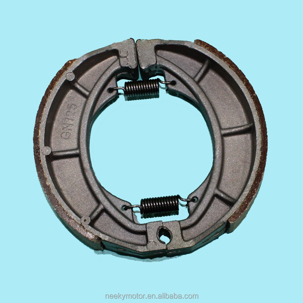 China Hot Sale Motorcycle Spare Parts Brake Shoes for GN125 Motorcycles