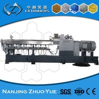 ZTE Nanjing PVC Plastic Processed Compounding machine screw extruder