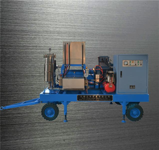pipe cleaning machine high pressure cleaner motor driven high pressure washer