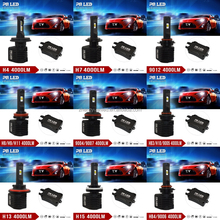 2016 HID Headlight Hot Selling H13 Generation headlight 12V 40W Auto Led HeadLight for H1,H3,H4,H7,H8,H11,9005,9006