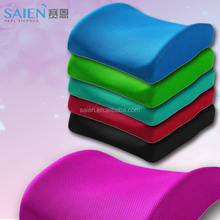 Shenzhen factory memory foam orthopedic back support pillow