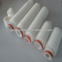 minipore pleated filter cartridge/ PP pleated filter cartrige