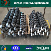 continuous cold rolled helical screw flight, spiral blade