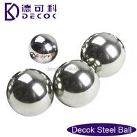 RoHS 0.35 to 200 mm low carbon steel balls finished 100mm stainless steel hollow sphere