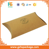 Small Kraft Pillow Boxes Cheap Offset Printing Recycle Pillow Box Image