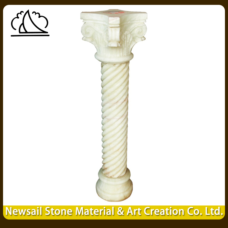 Outdoor Decorative Stone Popular Carving Pillars Design