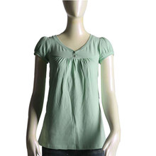 Ladies cotton summer casual shirt